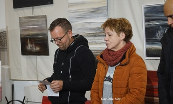 Jura Artistique expose au musée du fer et du chemin de fer.