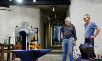 REMPLACEMENT DE LA ROUE À AUBES INTÉRIEURE DU MUSÉE