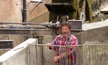 TRAVAUX SUR LE CANAL USINIER DES GRANDES FORGES : ALBUM DE JEAN COMBE