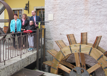 THE GREAT FORGES OF VALLORBE: COMMISSIONING OF THREE NEW WATER-WHEELS